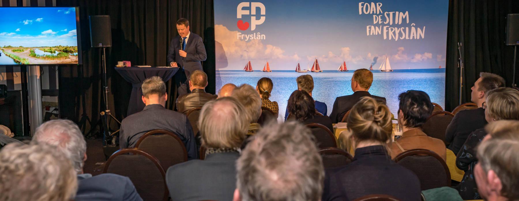 FNP nijs ferkiezings 4 kampanjestart