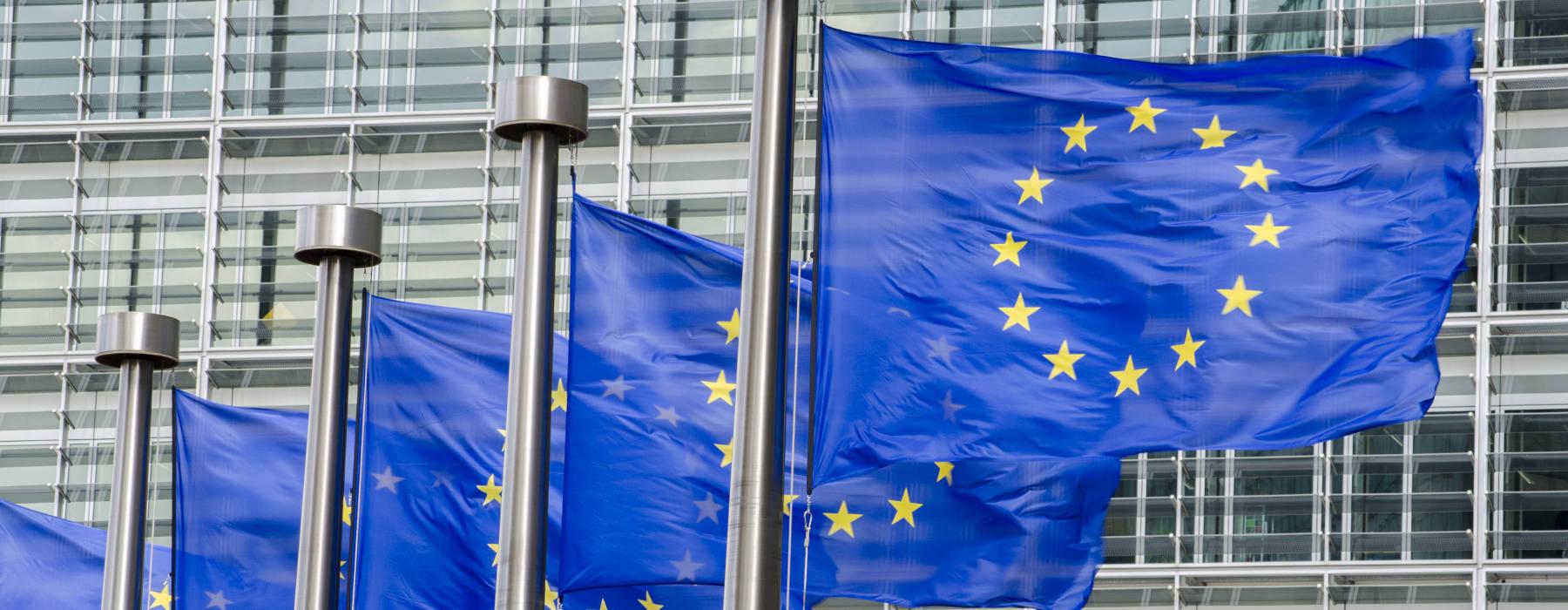 Nijs FNP - Europa - Flagen Brussel